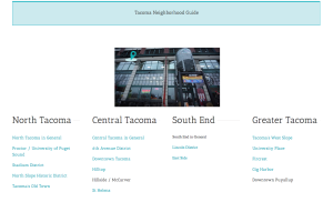 tacoma neighborhood guide